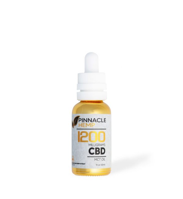 Pinnacle MCT New Tincture 1200MG