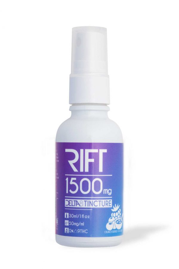 Rift Delta-8 Spray Tincture Crunch Berries 1500MG