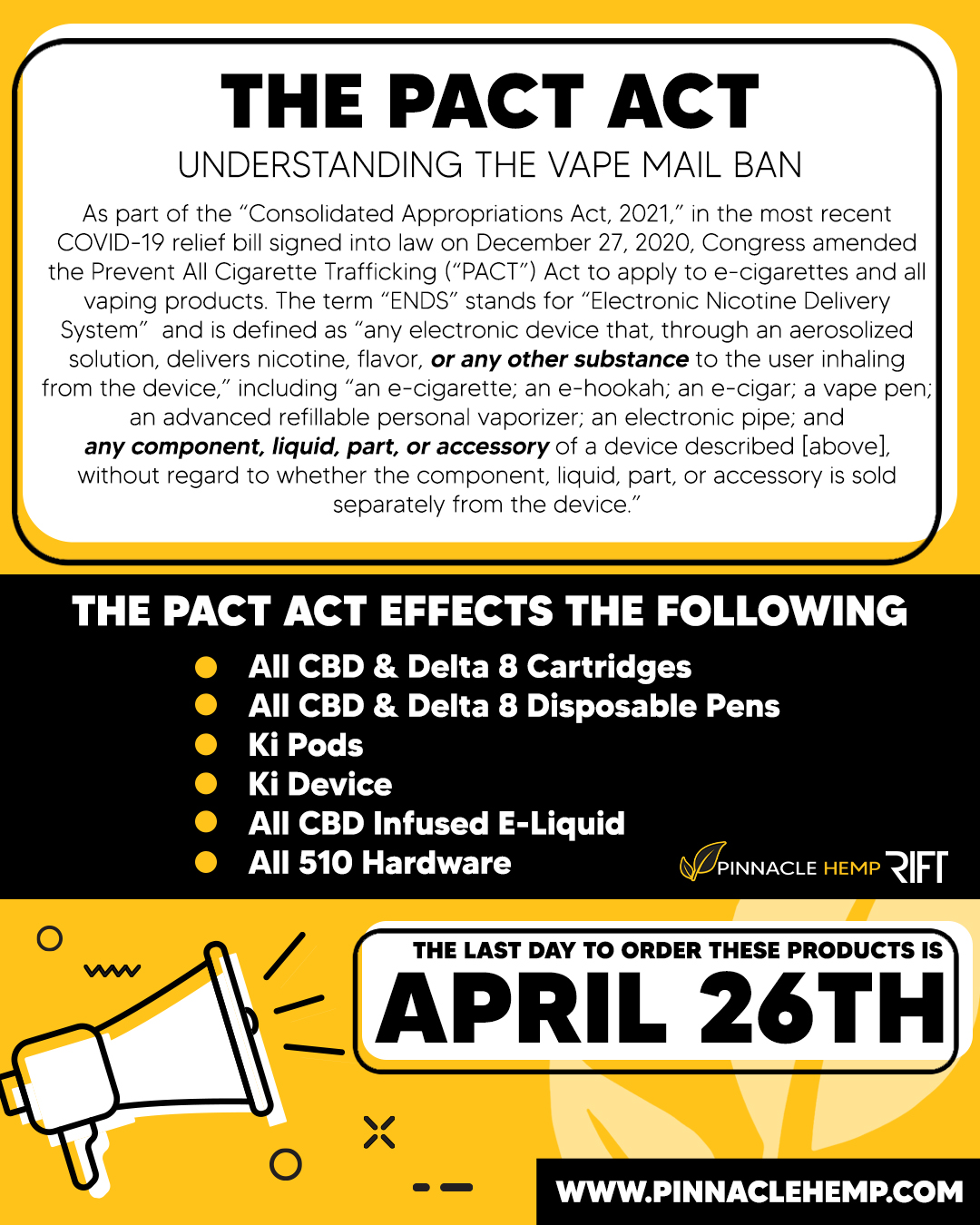 PACT Act Information